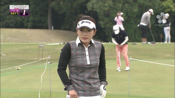 小林由枝,ゴルフ