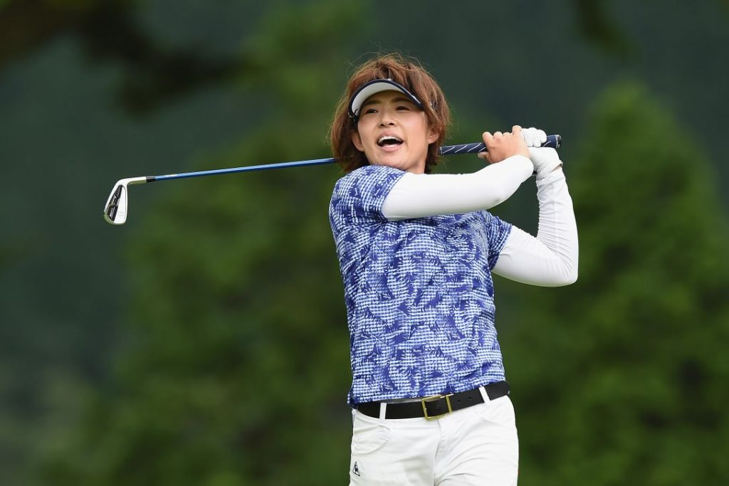 小川陽子,ゴルフ