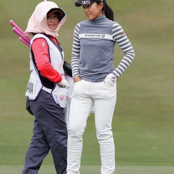 中山三奈,ゴルフ