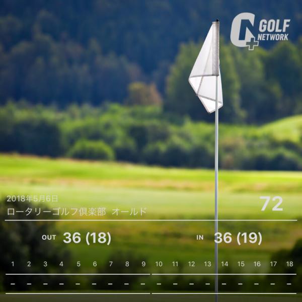 ゴルフスコア管理アプリ,ゴルフ女子,インスタ,スコア写真,GOLF NETWORK PLUS,GDOスコア