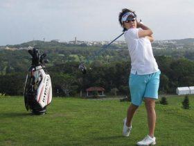 森桜子,ゴルフ