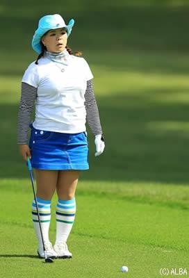 川原由維,女子プロゴルファー,ゴルフ,テンガロンハット,女子ゴルフ
